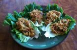 MY Tofu Veggie Stuffed Asian Lettuce Wraps