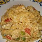 Chicken Spaghetti Deluxe