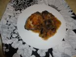 Low Carb Mushroom Coconut Chicken