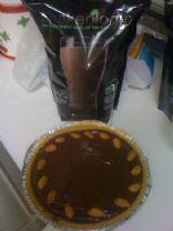 Chocolate Peanut Butter Banana Shakeology Pie