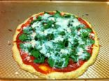 Spinach & Feta Pizza with Cauliflower Crust