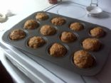 Turkey & Oatmeal Meatloaf Muffins