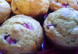 Strawberry Yogurt & Oat Muffins