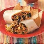 Burritos - Chicken, rice, bean, pepper, corn