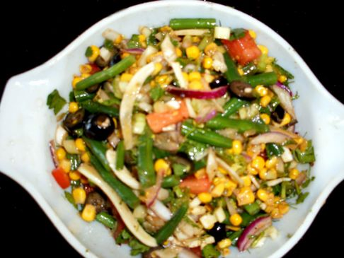Green Bean & Corn Salad