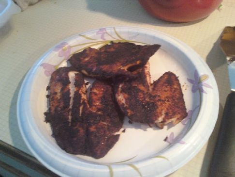 Wendy's Chili Rubbed Tilapia