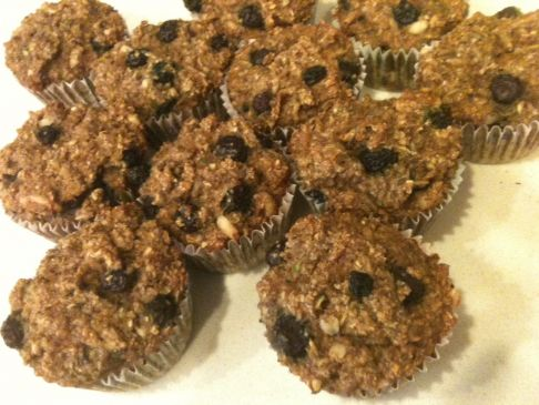 Bananna Blueberry Bran Muffin
