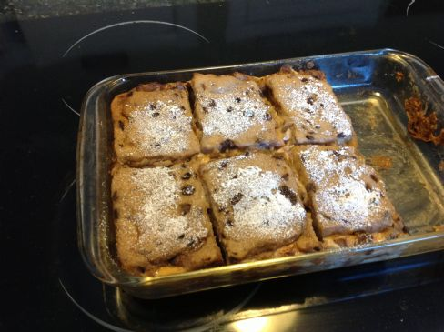 Low cal apple baked french toast