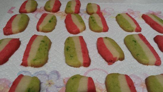 Neopolitan Cookies