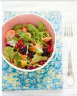 Salmon and Berry Salad - a Cannelle et vanille recipe