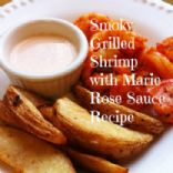 Smoky Grilled Shrimp with Marie Rose Sauce Recipe