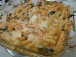 Chicken & Spinach Pasta Bake