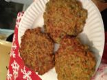Lentil and Almond burgers