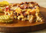 Easy Bacon Cheeseburger Pie