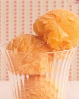 Cantaloupe-Ginger Sorbet