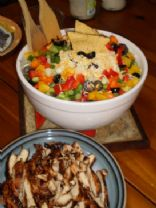 Spicy Mexican Tossed Salad