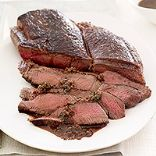 Sliced Sauteed Sirloin with Shallot Pan Sauce