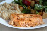 Maple Soy Glazed Salmon
