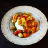 Chicken Curry with Chickpeas and Sweet Potatoes