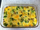 Low Fat Egg, Turkey Sausage and Veggie Casserole