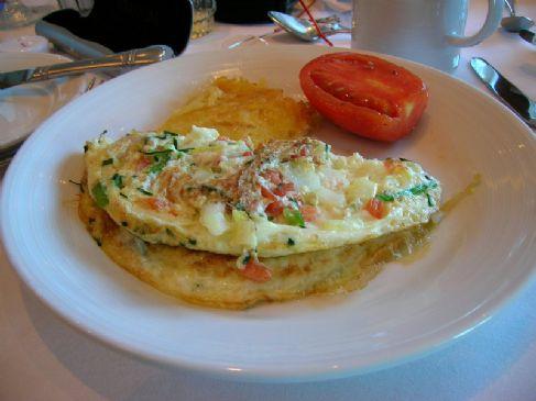 white omlet