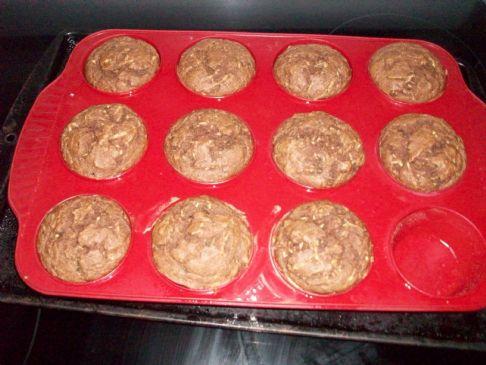 Low Calorie Zucchini Bread Muffins