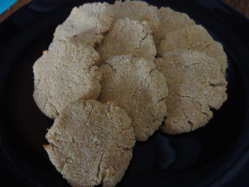Coconut not-Shortbread Cookies