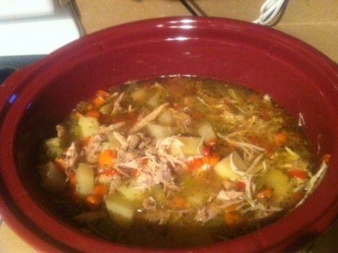 Leftover Turkey Stew