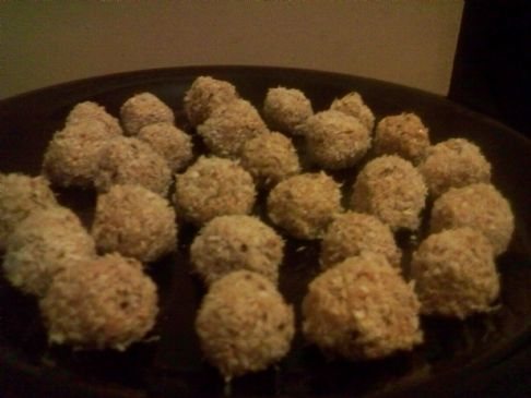 Sesame Coconut Candy