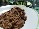 Mexican Sausage, Rice, and Beans
