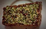 Vegan Chocolate-Strawberry Protein Bar by Mama Mini Rolls