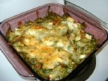 Low Carb Chicken Spinach Casserole