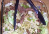 Cabbage and Beef Stir Fry