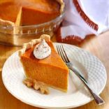 Toni's Pumpkin Pie with All Butter Almond Crust
