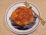Oat Bran Yogurt Pancake