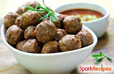 Lightened-Up Meatballs