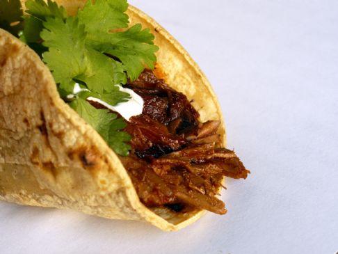 Chile-Braised Pork Tacos