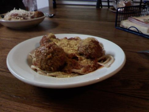 Red Lentil Vegan Meatballs (or