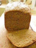 Bread, Light Wholemeal (ABM), 1 slice per serving
