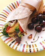 Mediterranean Chicken Wrap