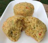 Zucchini and Jalapeno Corn Muffins