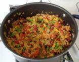 Vegan Bean and Rice Casserole