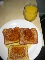 Simple Cinnamon Toast