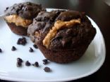 Chocolate Peanut Butter & Banana Muffins