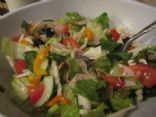 Turkey Sub Salad