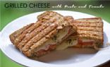 Grilled Cheese with Pesto and Tomato