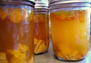 Homemade Chicken Soup for Canning