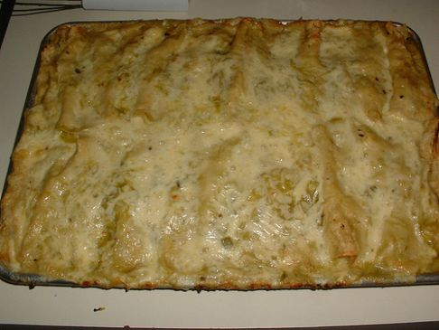 Low Carb Chicken Enchiladas- Revised