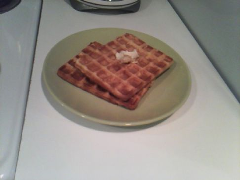 Corn Meal Waffles