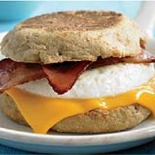 BB - Bacon, Egg and cheese Breakfast Sandwich